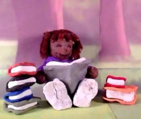 Alisa reading 4
